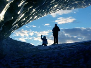 Ice cave in Skaftafell